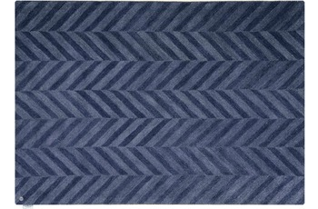 Tom Tailor Country - Zigzag blue 65 x 135 cm
