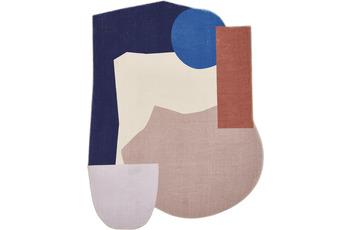 Tom Tailor Teppich Shapes TEN blue multi