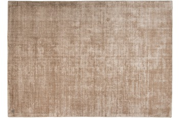 Tom Tailor Viskose-Teppich Shine, uni, braun 160cm x 230cm