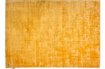 Tom Tailor Viskose-Teppich Shine, uni, 870 gold 65cm x 135cm