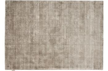 Tom Tailor Viskose-Teppich Shine, uni, grau 65cm x 135cm