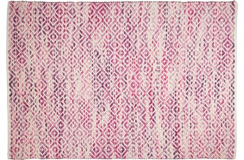 Tom Tailor Teppich Smooth Comfort, diamond, pink 85cm x 155cm