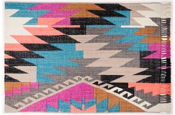 Tom Tailor Handwebteppich Vintage, Funky Kelim, multi 65cm x 135cm