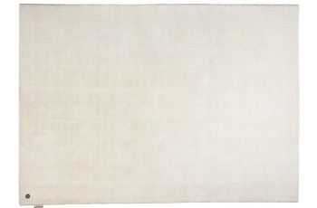 Tom Tailor Viskose-Teppich Shine, uni, 101 weiss 140cm x 200cm