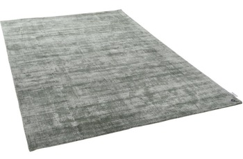 Tom Tailor Viskose-Teppich Shine uni 300 grün