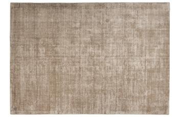 Tom Tailor Viskose-Teppich Shine, uni, 506 hell braun 65cm x 135cm