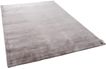 Tom Tailor Viskose-Teppich Shine uni 550 beige