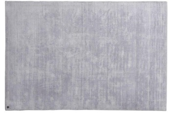 Tom Tailor Viskose-Teppich Shine, uni, 641 silber 190 cm x 290 cm