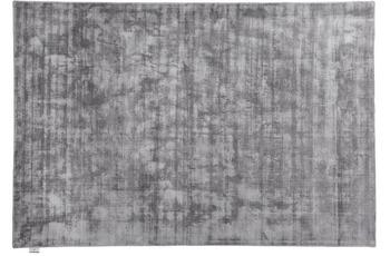 Tom Tailor Viskose-Teppich Shine, uni, 650 grau 140 cm x 200 cm