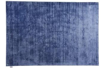 Tom Tailor Viskose-Teppich Shine, uni, 700 blau