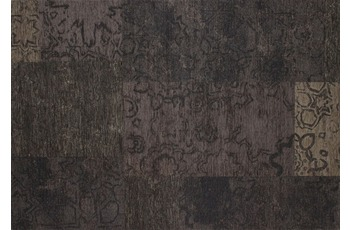 Kelii Patchwork-Teppich Colorado black 68 cm x 120 cm