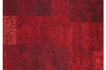 Kelii Patchwork-Teppich Colorado rot 200 cm x 290 cm