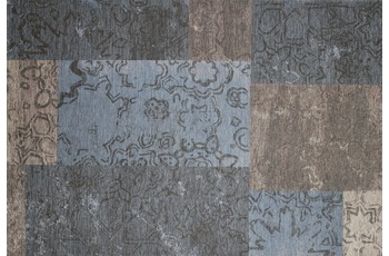Kelii Patchwork-Teppich Colorado taupe