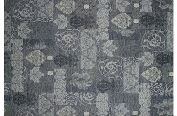Kelii Patchwork-Teppich Patagonia sanft-blau 68 cm x 220 cm