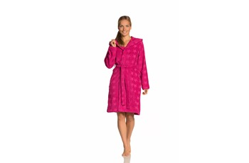 Vossen Damen-Bademantel Sally cranberry