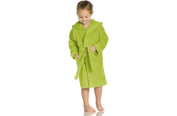 Vossen Velours-Kinderbademantel Texie meadow green
