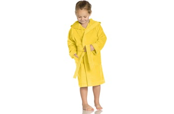 Vossen Velours-Kinderbademantel Texie sunflower