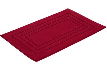 Vossen Badeteppich Feeling rubin 67 x 120 cm