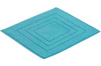 Vossen Badeteppich Feeling turquoise 67 x 120 cm