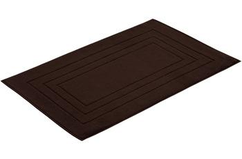 """Vossen Badeteppich """"Vossen Feeling"""" dark brown"""