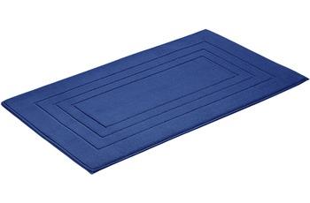 Vossen Badeteppich Feeling marine blau 67 x 120 cm