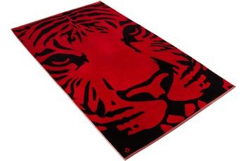 """Vossen Strandtuch """"Indian Tiger"""" purpur 100 x 180 cm"""