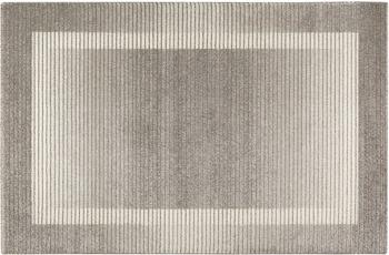 Wecon home Kurzflor-Teppich Velvet Flow WH-22893-095 grau
