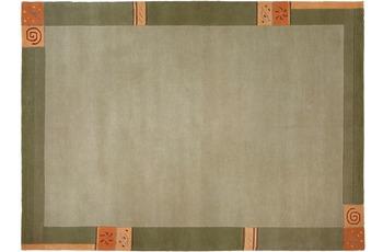 Luxor Living Nepal-Teppich, Manali 101 grün 40 x 60 cm
