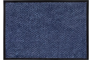 Wohn Idee Fußmatte Len blau 50x70