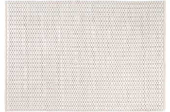 Wohn Idee Handwebteppich Finn, creme 120 cm x 170 cm