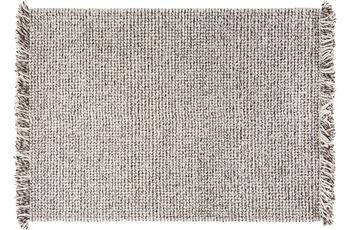 Wohn Idee Handwebteppich Lasse, anthrazit 160 cm x 230 cm