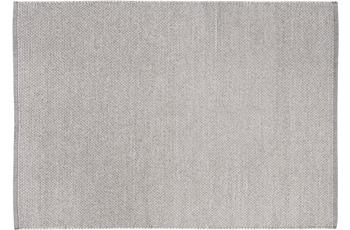 Wohn Idee Handwebteppich Liv, hellgrau 120 cm x 170 cm