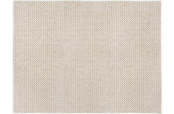 Wohn Idee Handwebteppich Morten, creme 120 cm x 170 cm