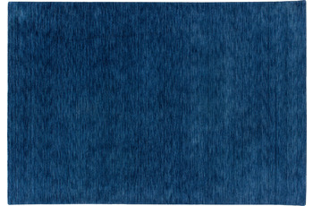 Zaba Loribaft-Teppich Seattle blau 150 cm x 150 cm