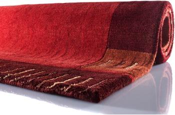 Zaba Nepalteppich Lalipur rot 90 cm x 160 cm
