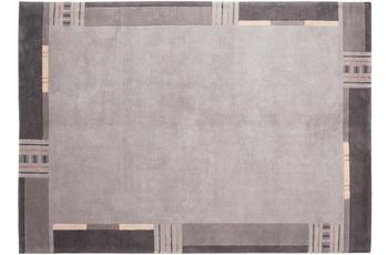 Zaba Nepalteppich Sonali silber 90 x 160 cm