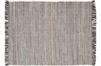 Zaba Teppich Highland handgewebt grau 120 x 180 cm