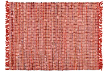 Zaba Teppich Highland handgewebt rot 120 x 180 cm