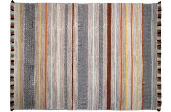 Zaba Handwebteppich Kalleen beige 70 x 130 cm