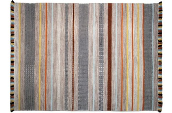 Zaba Teppich Kalleen handgewebt beige 130 x 190 cm
