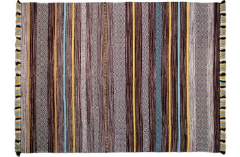 Zaba Teppich Kalleen handgewebt braun 130 x 190 cm