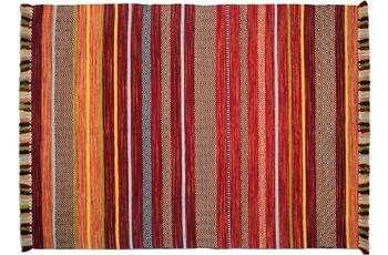 Zaba Teppich Kalleen handgewebt rot 130 x 190 cm