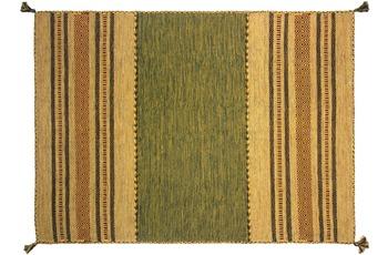 Zaba Teppich Navarro handgewebt grün 130 x 190 cm