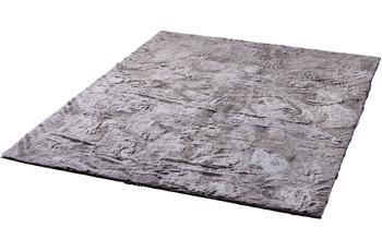 Zaba Fell-Teppich Robin grau-meliert