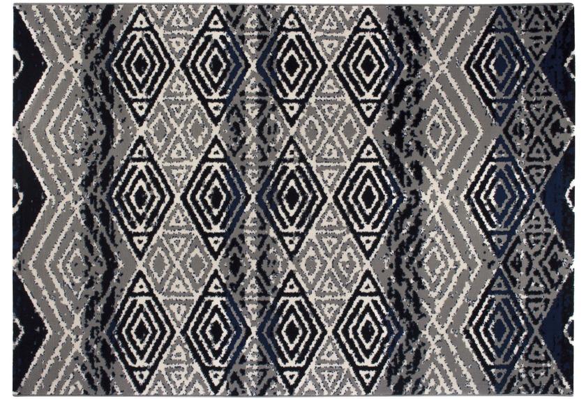 andiamo teppich puerto blau grau designerteppich bei. Black Bedroom Furniture Sets. Home Design Ideas