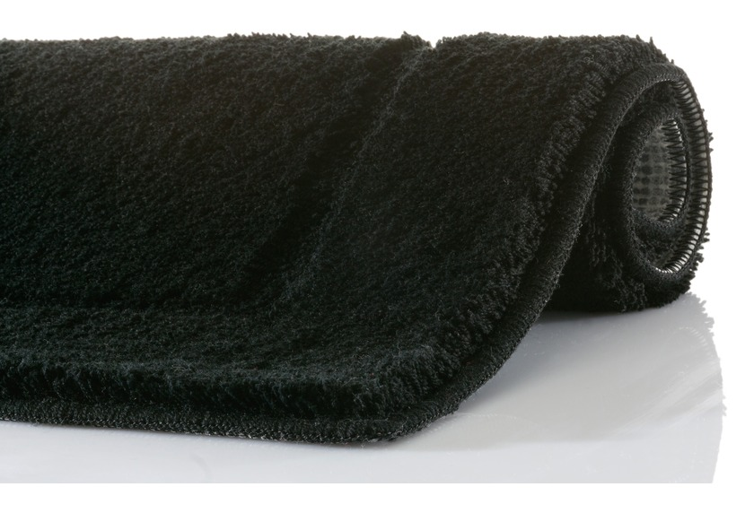 Aquanova Badteppich ACCENT, Farbe 09 schwarz
