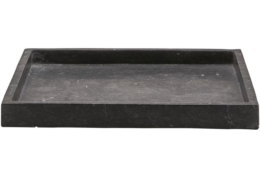 Aquanova HAMMAM Tablett Karree 98 dunkelgrau 30 x 30 x 3 cm