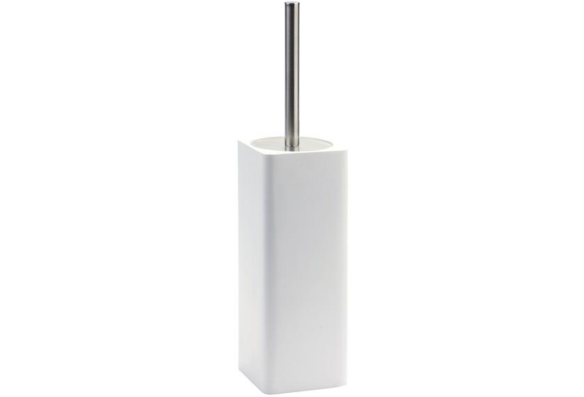 Aquanova ONA WC-Bürstengarnitur 43 weiß 9,7 x 9,7 x 38 cm