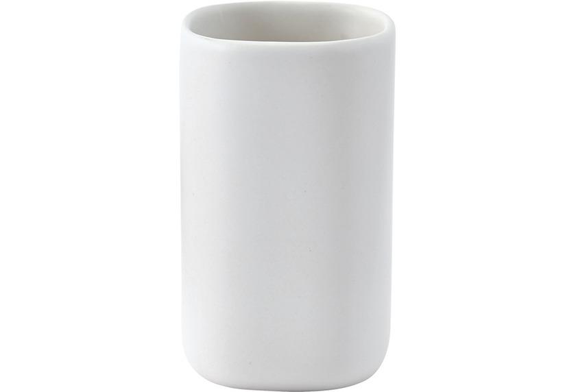 Aquanova OSCAR Zahnbürstenhalter 43 weiß 7 x 7 x 11 cm