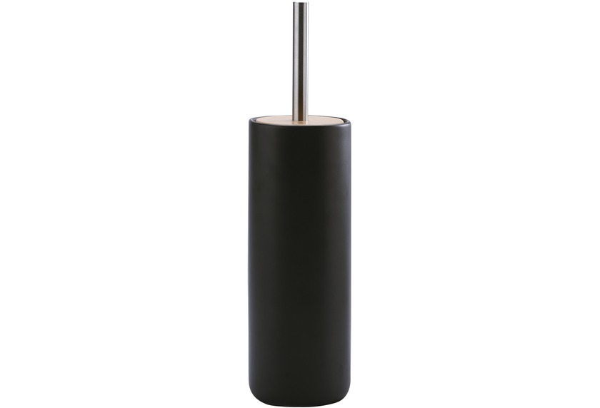Aquanova OSCAR WC-Bürstengarnitur 09 schwarz 10 x 10 x 39,5 cm